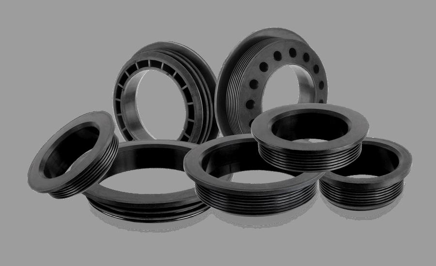 Formgummi, industrigummi, termoplast, tillverkning